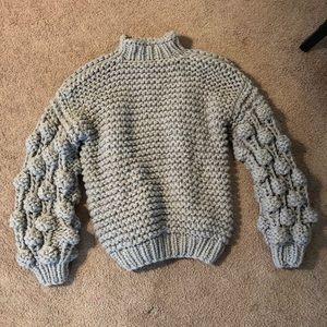 Sweaters - Handmade, Oversized Gray Sweater
